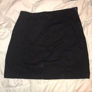 Black Free People Pencil Skirt